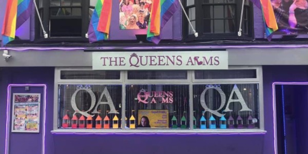 the queens arms gay bar gaymapper