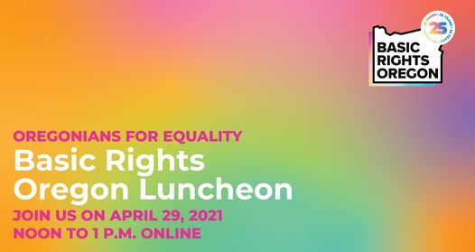 Oregonians For Equality Luncheon