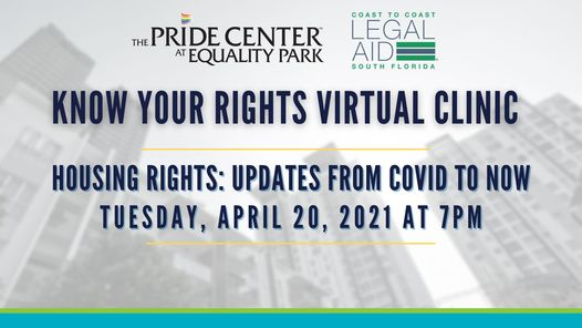 Housing Rights Virtual Clinic: Updates from COVID to Now
