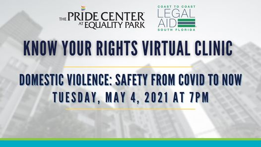 Domestic Violence Virtual Clinic:  Safety from COVID to Now