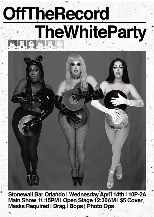 OFF THE RECORD: White Party!