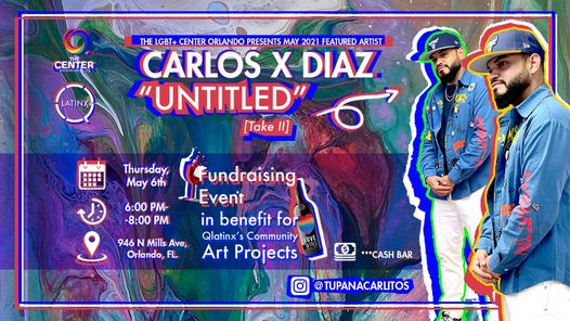 """First Art Show of 2021 featuring Carlos X Diaz """"Untitled"""" [Take II]"""
