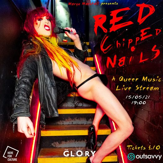 Red Chipped Nails: Queer Music Livestream