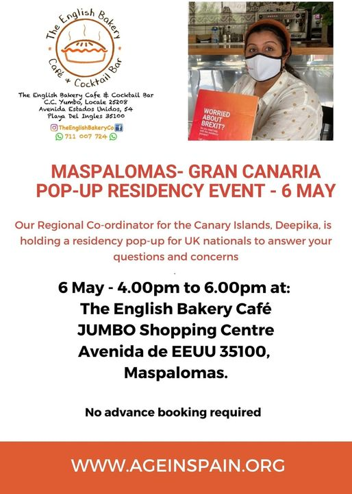Popup Residency Advice Event
