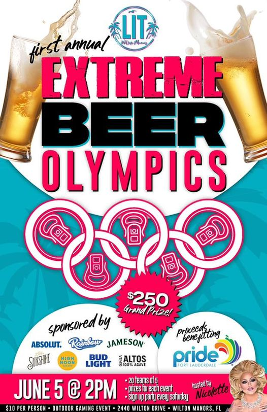 Lit Bar's Extreme Beer Olympics