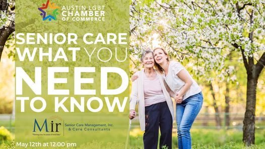 Senior Care  What you need to know.