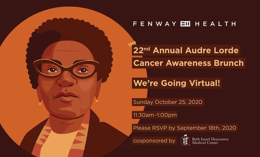 22nd Annual Audre Lorde Cancer Awareness Brunch: We're Going Virtual!