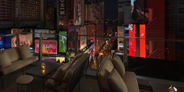 times square edition new york city gay hotel gaymapper terrace