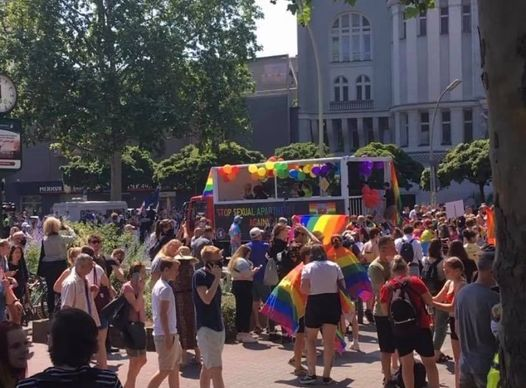 ★ ★ ★ CSD Berlin 2021 Save our Community