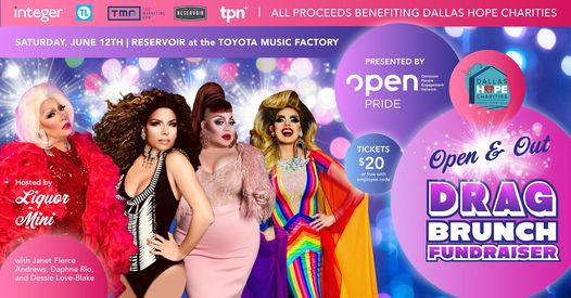 OPEN and Out Drag Brunch