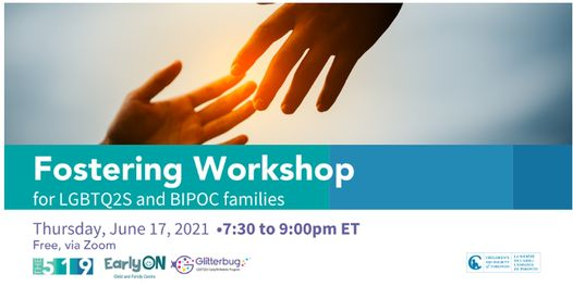 Fostering Workshop for LGBTQ2S and BIPOC families