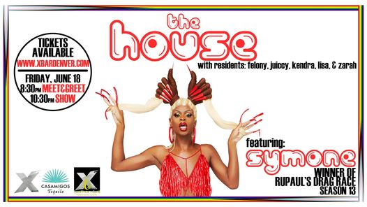 THE HOUSE featuring: SYMONE