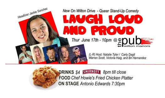 Laugh Loud & Proud / Stand up  Queer Comedy
